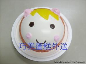 布偶造型蛋糕