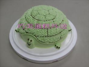 立體烏龜造型蛋糕
