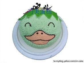 河童造型蛋糕