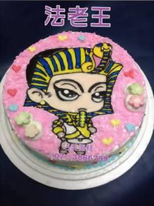 法老王造型蛋糕
