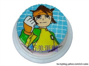 閃電11人的圓堂造型蛋糕