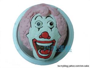 麥當勞叔叔造型蛋糕