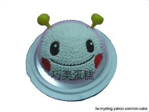 MOMO蟲(頭)造型蛋糕