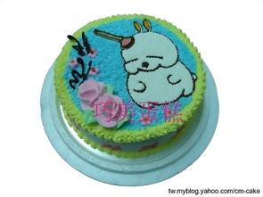 賤兔造型蛋糕