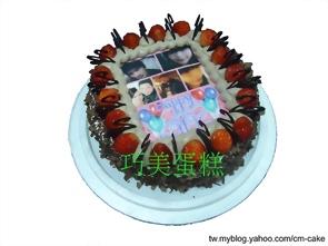 草莓季節限定相片黑森林造型蛋糕