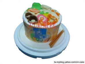 泡麵造型蛋糕