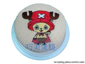 可愛版喬巴造型蛋糕