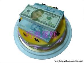 我愛美金造型蛋糕