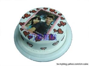 ALL LOVE相片蛋糕