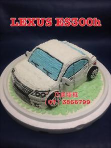 LEXUS ES300h造型蛋糕