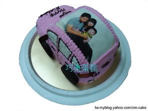 奧迪R8造型蛋糕