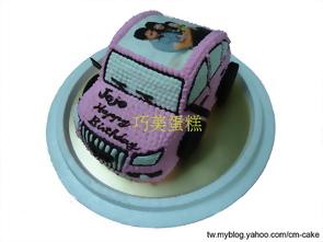 奧迪敞篷車(平面)造型蛋糕