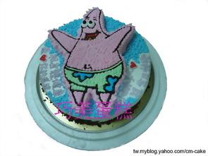 派大星造型蛋糕
