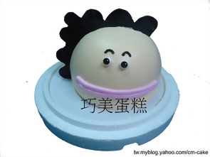 花媽(頭)造型蛋糕