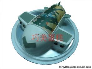 飛機造型+相片蛋糕