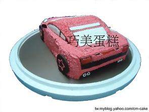 藍寶堅尼(3D)造型蛋糕