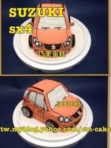 Suzuki SX4汽車造型蛋糕
