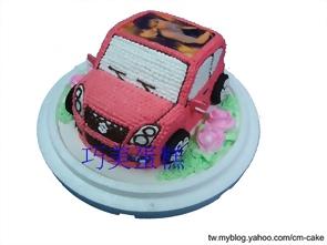 相片+Suzuki Swift汽車造型蛋糕