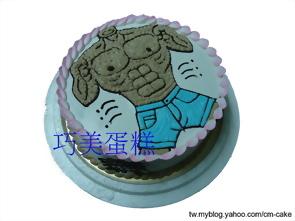 牛仔褲猛男造型蛋糕