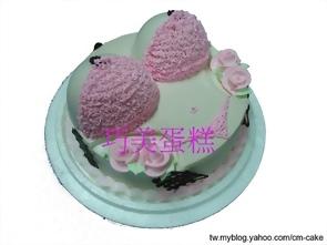 比基尼造型蛋糕