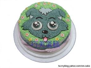 小灰灰造型蛋糕