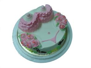 雙奶(養樂多)造型蛋糕