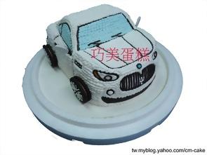 馬莎拉蒂汽車造型蛋糕