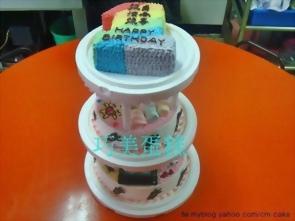 多層造型蛋糕