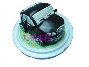 福特FOCUS汽車造型蛋糕