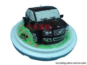 富豪VLOVO汽車造型蛋糕