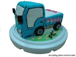貨車造型蛋糕