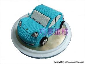 保時捷汽車造型蛋糕
