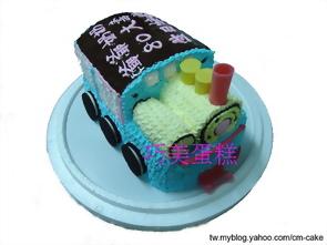 蒸氣火車頭造型蛋糕