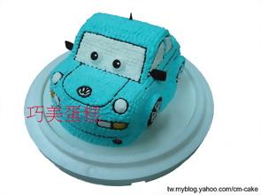 玩具車造型蛋糕