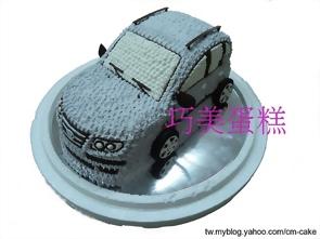 現代汽車造型蛋糕