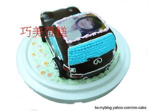 相片+INFINITI汽車造型蛋糕