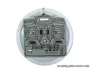 飛機遙控器造型蛋糕