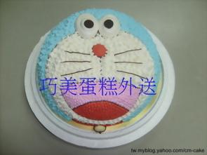 小叮噹造型蛋糕-2