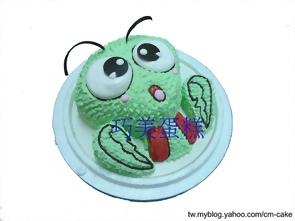 可愛的小強蟑螂造型蛋糕