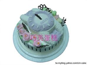 手錶造型蛋糕