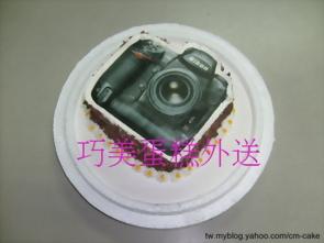 相片相機造型蛋糕