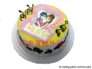 數位圖片蛋糕