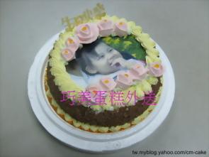 數位相片生日蛋糕
