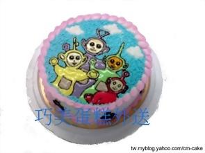 天線寶寶造型蛋糕