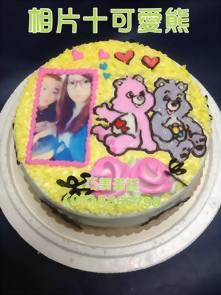 相片+可愛熊造型蛋糕