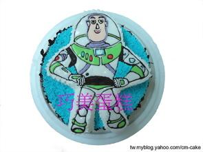 巴斯光年(2D)造型蛋糕