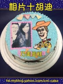 相片+胡迪造型蛋糕