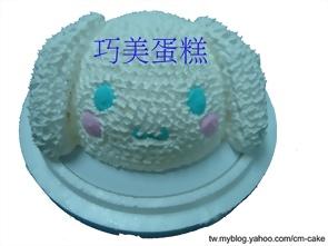 大耳狗(頭)造型蛋糕