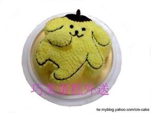 布丁狗造型蛋糕-2