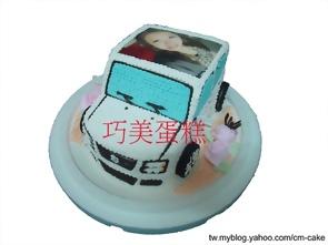 相片+Solio汽車造型蛋糕
